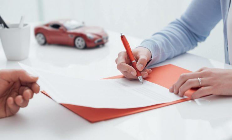 contrat auto